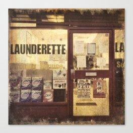 Launderette Canvas Print