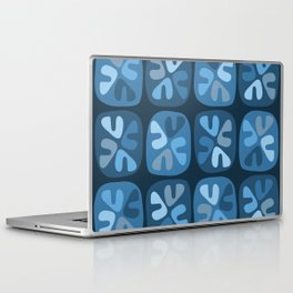 blue boomerangs Laptop & iPad Skin