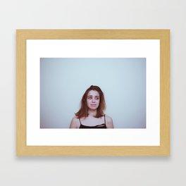 Please don't cry Framed Art Print