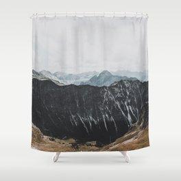 interstellar - landscape photography Shower Curtain