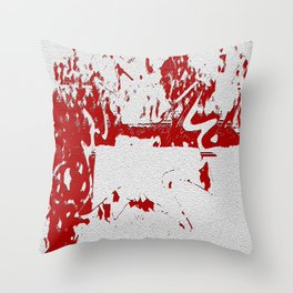 Wall Of Curses Throw Pillow