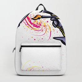 Kreativer Astronaut mal Galaxies Backpack