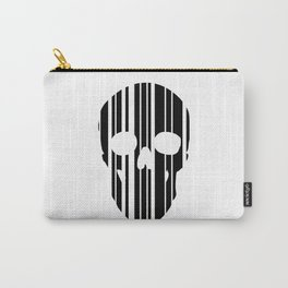 Barcode Skull Carry-All Pouch