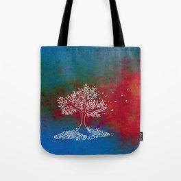 Wind Multi Color Tote Bag