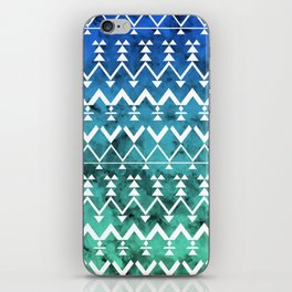 Triangle Tribal iPhone Skin