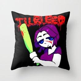 ILLBLEED Throw Pillow