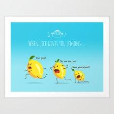 LemonAID Art Print