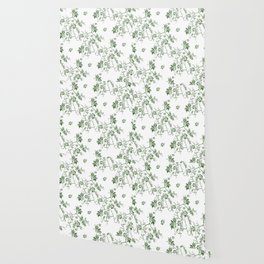 Penis Pattern GREEN Wallpaper