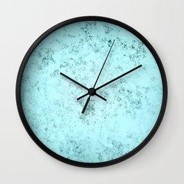 Crystallized Light Blue Wall Clock