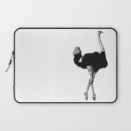 Ostrich Ballerina Laptop Sleeve