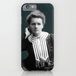 Young Marie Curie, 1903 iPhone Case