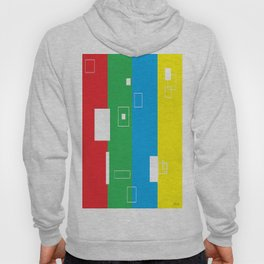 Simple Color Primary Colors Hoody