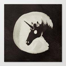 The Unicorn Moon Canvas Print