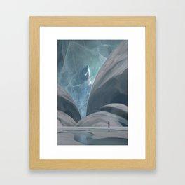 Bear hunting Framed Art Print