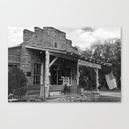 Cross Roads Store Canvas Print