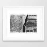 farm Framed Art Prints featuring farm by Donny A Cudhea