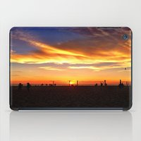 """volleyball iPad Cases featuring Hermosa Beach """"Volleyball"""" by Arturo Garcia"""