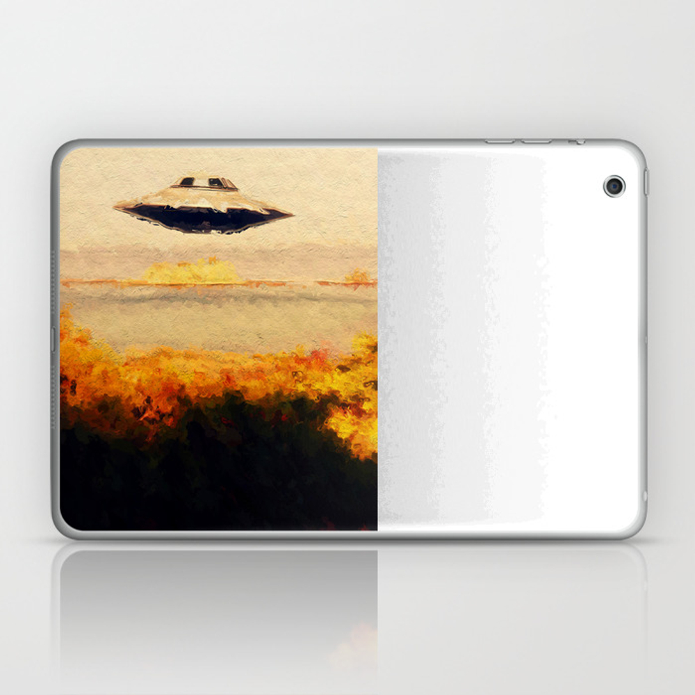 Flying Saucer Laptop & Ipad Skin by Esotericaartagency LSK8298824