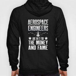 Aerospace Engineer Money Engineering Gifts graphic Hoody