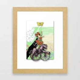 RIDING HORSE Framed Art Print