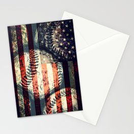 America's game Stationery Cards