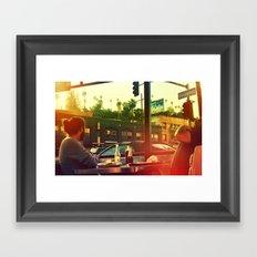 Fish Tacos Framed Art Print