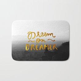Dream On Dreamer Bath Mat