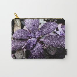 Mauveine Mullein Carry-All Pouch