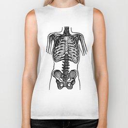 Bones. Biker Tank