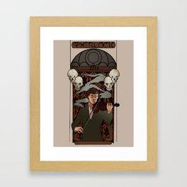 """""""The Hero"""" Framed Art Print"""