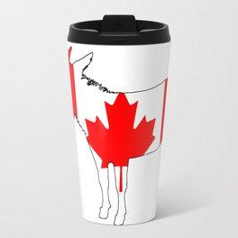 Canada Donkey Travel Mug