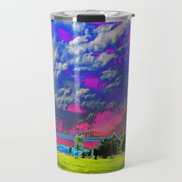 Verrazano Bridge  Travel Mug