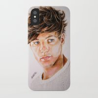 louis iPhone & iPod Cases featuring Louis  by Drawpassionn