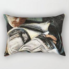 Damage Report Rectangular Pillow