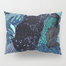 The Jungle at Night Colour Version Pillow Sham