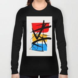 Synchronicity Abstract Art Minimalist in the zen spirit Long Sleeve T-shirt