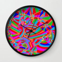 Magic Trance 2 Wall Clock
