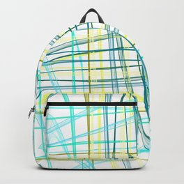 yellow & Blue Backpack