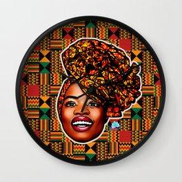 Ashanti Queen Wall Clock