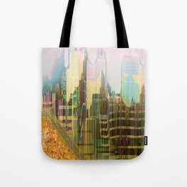 Back to the Fantastic City Tote Bag