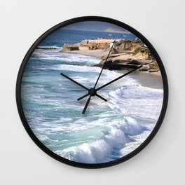 BOYS ON A ROCK 2 Wall Clock