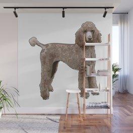 Elegant Poodle Wall Mural