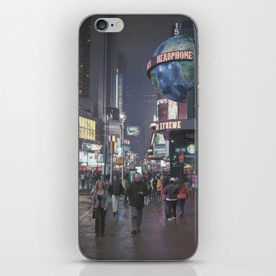 it's not even square... iPhone & iPod Skin