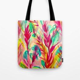 Tutti Frutti Leaves Tote Bag