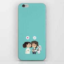I love you, i know iPhone Skin