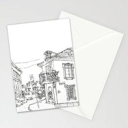 Minimal Line Settlement 2 Stationery Cards