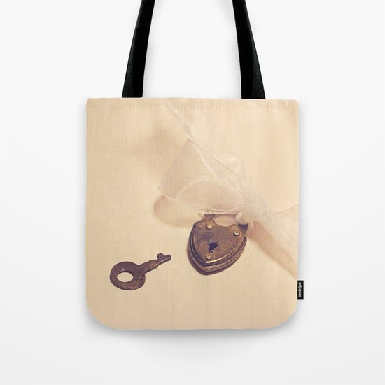 The key to my heart Tote Bag