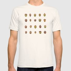 Acorn Collection Mens Fitted Tee Natural SMALL