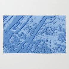BLUE MARBLE EFFECT Rug