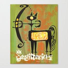 Sagittarius Print Canvas Print